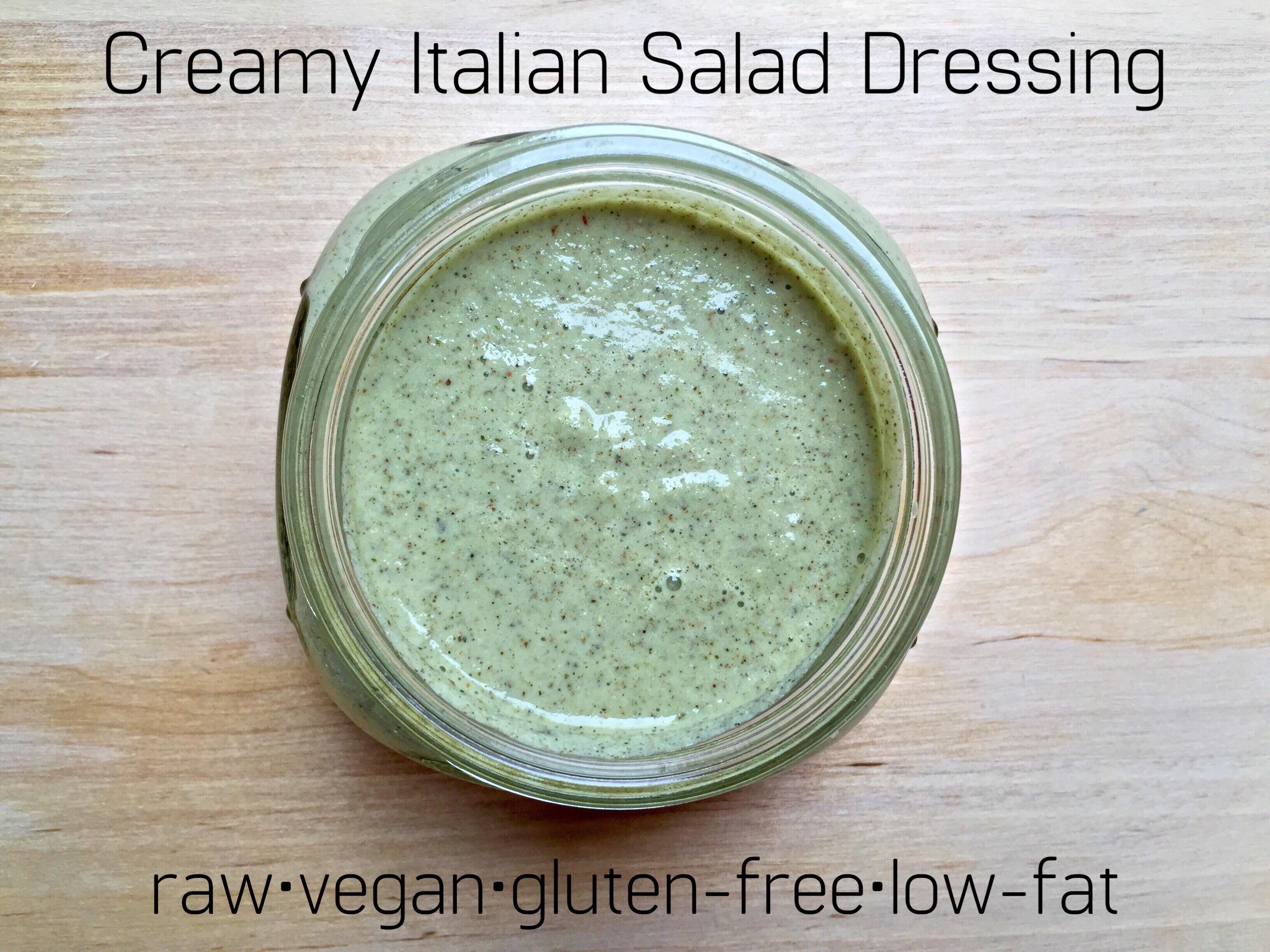 Low Fat Italian Salad Dressing